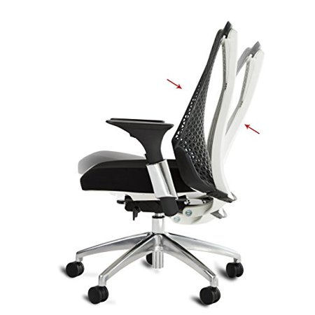Awesome Office Factor Black Ergonomic Modern Contemporary Executive Task Managers Office Chair Adjustable Steel Arms Seat Slider Soft Thermoplastic Lamtechconsult Wood Chair Design Ideas Lamtechconsultcom
