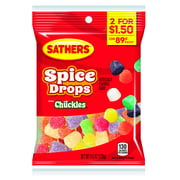 Sathers Spice Drops Candy, 4.5 Ounce Bag