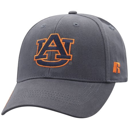 Men's Russell Charcoal Auburn Tigers Endless Adjustable Hat -