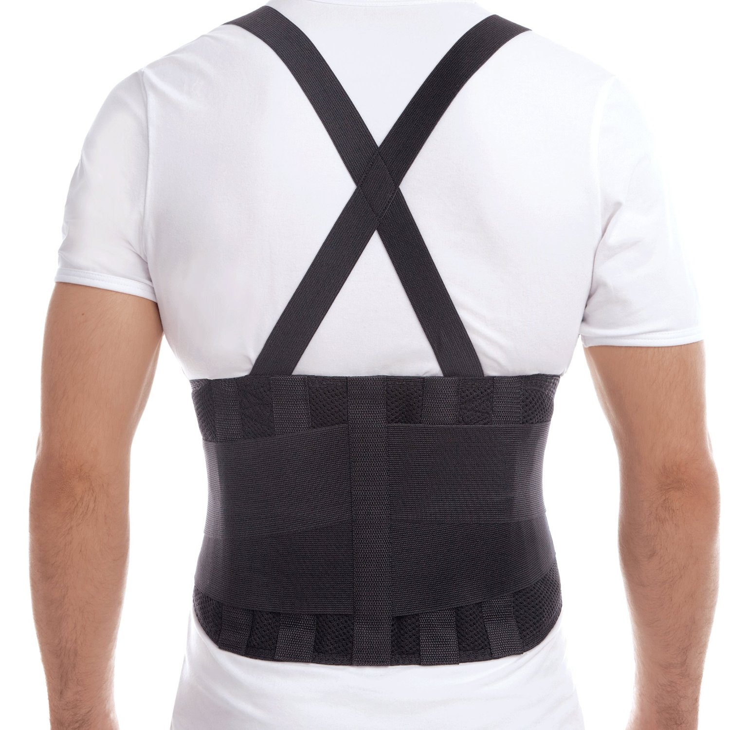 Premium Lumbar Lower Back Brace and Support Belt