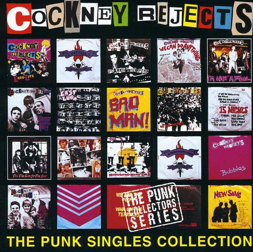 Cockney Rejects - Punk Singles Collection [CD]