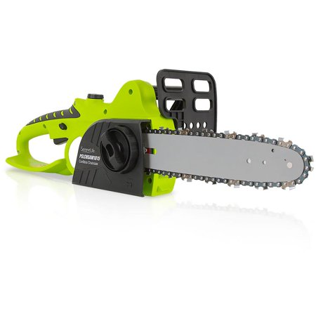 SereneLife 18V Cordless Chainsaw Electric Home Garden Chain-Saw Cutter with Rechargeable Battery