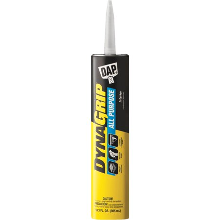 - DAP DYNAGRIP All Purpose Construction Adhesive