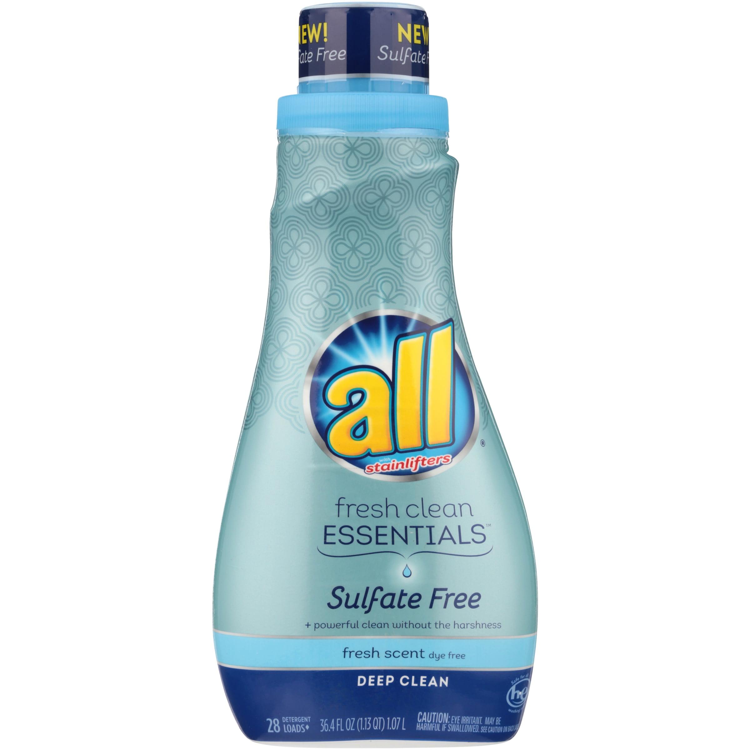 all Fresh Clean Essentials Fresh Scent Liquid Laundry Detergent, 36.4 fl oz