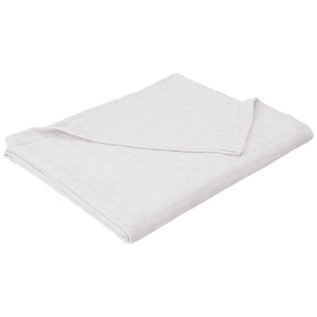 Luxury Chateau Blanket - Impressions Luxury Cotton Basket Weave Blanket