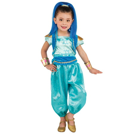 Shimmer and Shine: Shine Deluxe Child Halloween Costume - Best Comicon Costumes