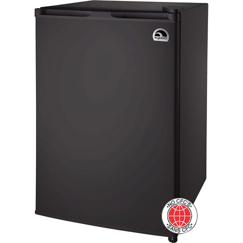 Igloo 2.6-cu ft Refrigerator, Black
