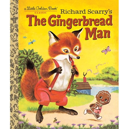 Richard Scarry's the Gingerbread Man (Hardcover)