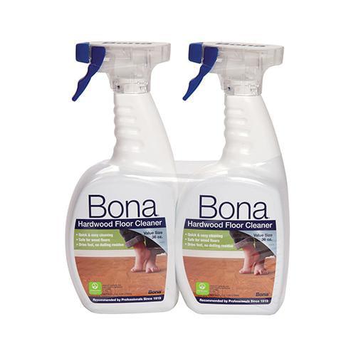 BONA KEMI USA INC Hardwood Floor Cleaner, 36-oz. Spray, 2-Pk.