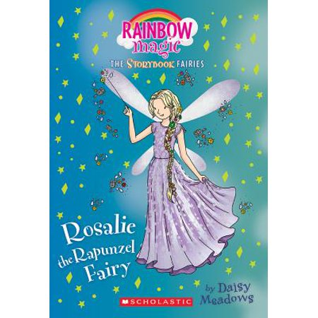 Rain Bow Magic (Rosalie the Rapunzel Fairy (Storybook Fairies #3) : A Rainbow Magic)