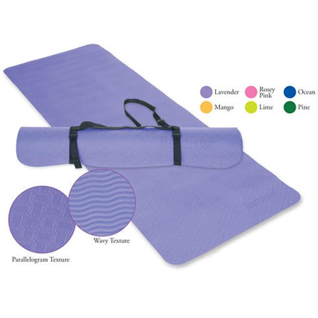 Ecowise Essential Yoga and Pilates Mat