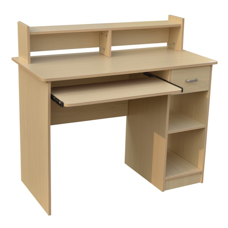 "Homegear Home Office 41"" Computer Desk Maple"