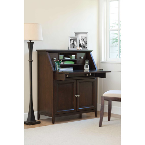 Canopy Cornerstone Collection Drop-Lid Desk, Multiple Finishes