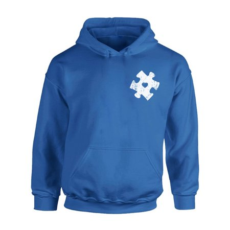 Awkward Styles Autism Awareness Puzzle Hoodie Autism Sweater for Men Autism Sweatshirt for Women Autism Gifts for Her and Him Autistic Spectrum Awareness Hooded Sweatshirt Support Autism Sweater - Awareness Hooded Sweatshirt