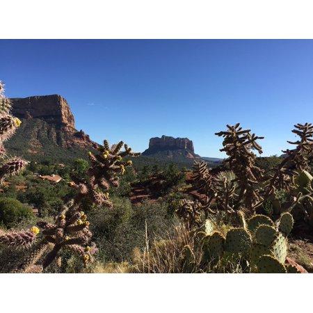 - LAMINATED POSTER Sedona Red Arizona Landscape Southwest Rock Poster Print 24 x 36