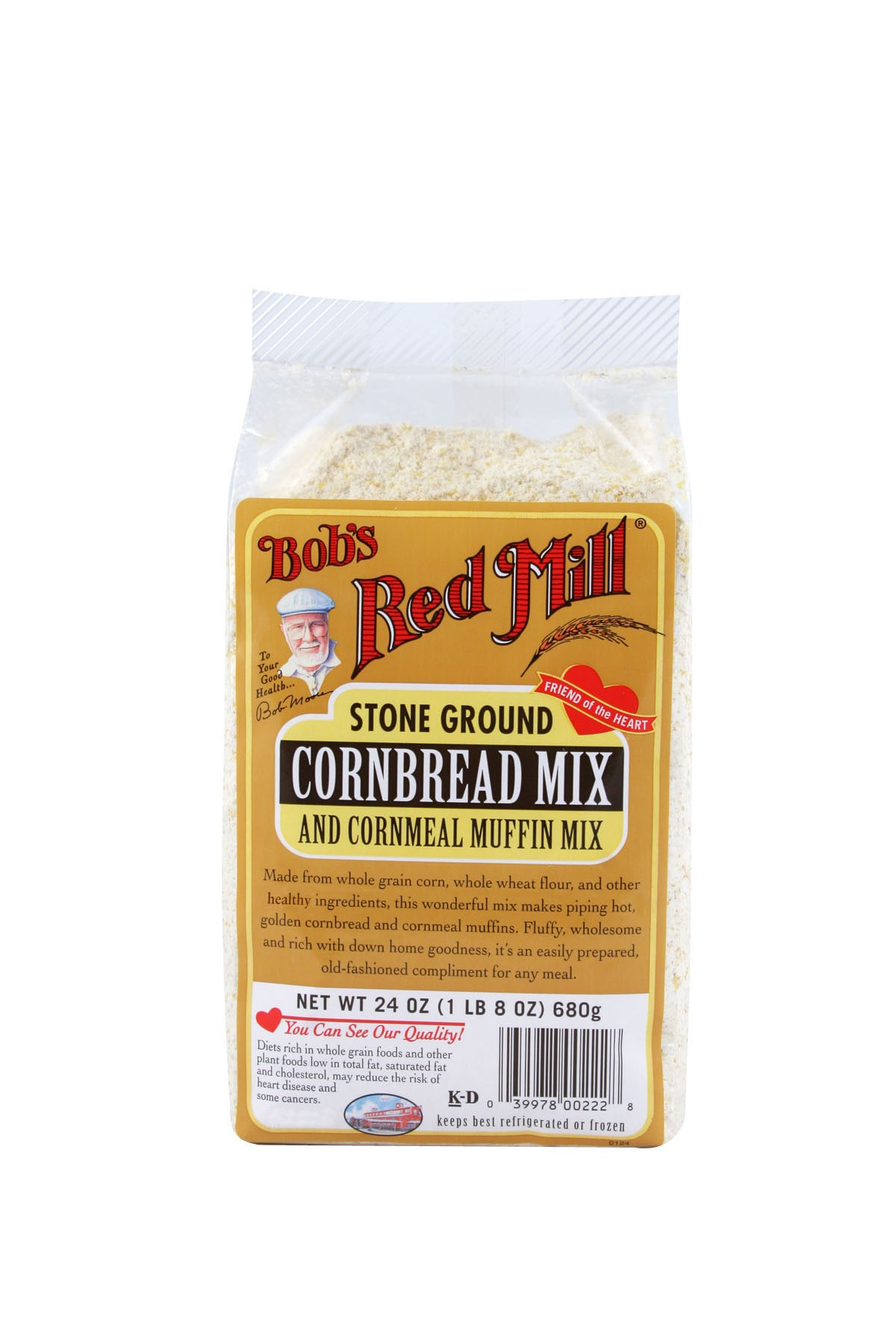 Bobs Red Mill Muffin Cornbread Mix, 24 Oz by Bob'S Red Mill