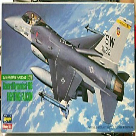 General Dynamics Fighting Falcon F 16C Model Kit   Vintage Model From 1986