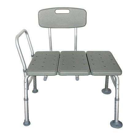 Zimtown Bath Shower Chair Adjustable Medical 10 Height Transfer Bench Bathtub Stool - Bathtub Transfer Seats