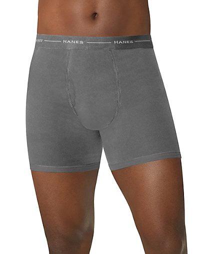 Mens Boxer Briefs Underwear Return Fire No Ride Up Cotton Stretch Short