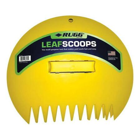 Poly Leaf Scoops - RUGG LEAF SCOOPS 2PK