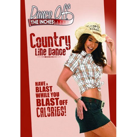 Dance Off The Inches: Country Line Dance (DVD) (Movies In C)