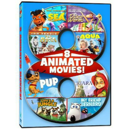 8 Animated Feature Films (DVD)](Film Halloween Animation)