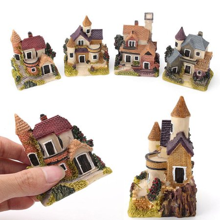 Fairy Craft (Girl12Queen Miniature House Fairy Garden Micro Landscape Home Decoration Resin Craft)