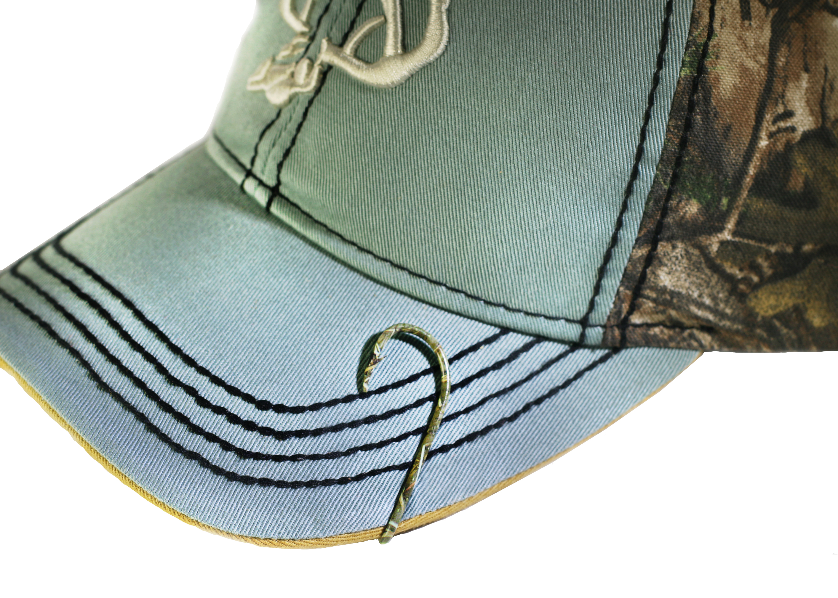 80335263b28 Eagle Claw Hat Hook Camo Fish hook for Hat Pin Tie Clasp or Money Clip Cap  Fish Hook - Walmart.com