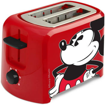 Disney DCM-21 Mickey Mouse 2 Slice Toaster