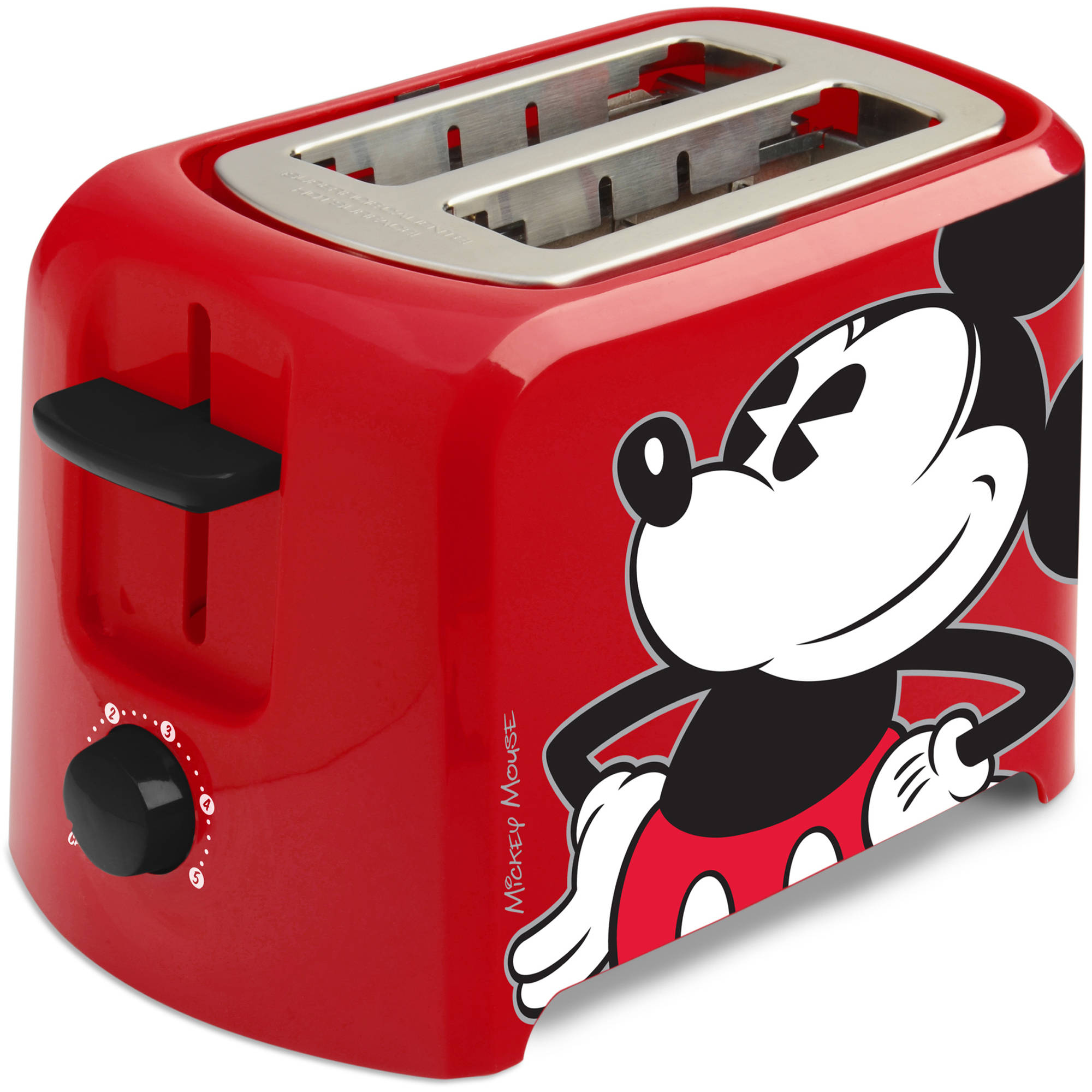 Disney Mickey Mouse 2 Slice Toaster