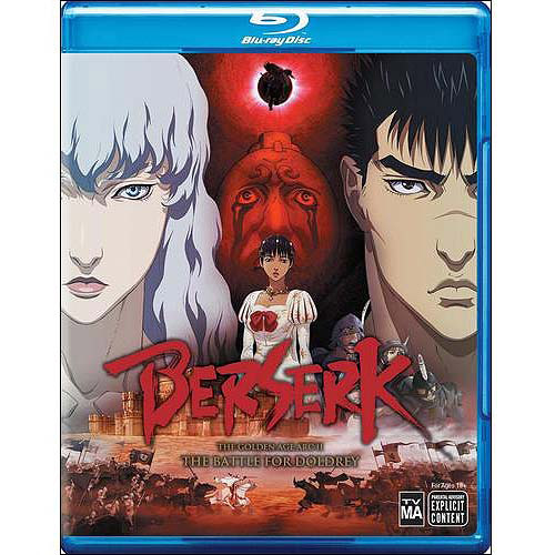 Berserk: The Golden Age Arc II: The Battle for Doldrey (Blu-ray)