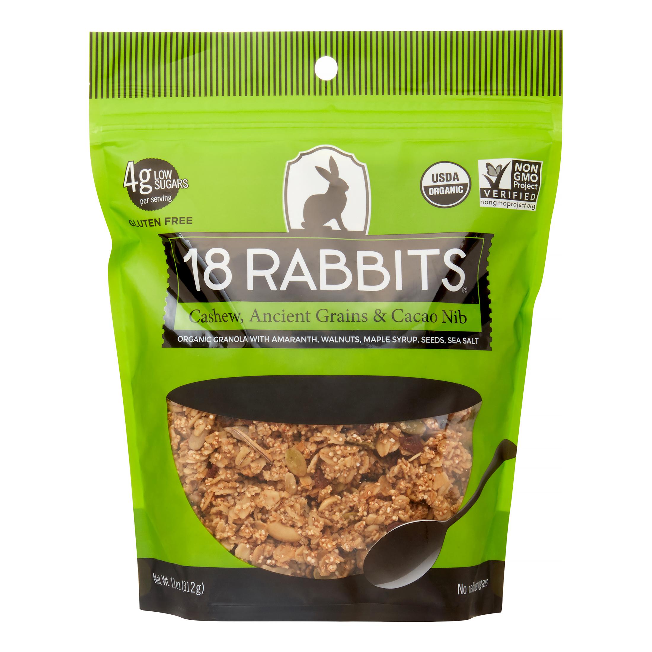 Image of 18 Rabbits Audacia Organic Granola, 11 Oz