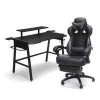 Respawn by OFM Respawn Gaming Chair (RSP-110) and Gaming Desk (RSP-1010) Bundle (Multiple Colors)