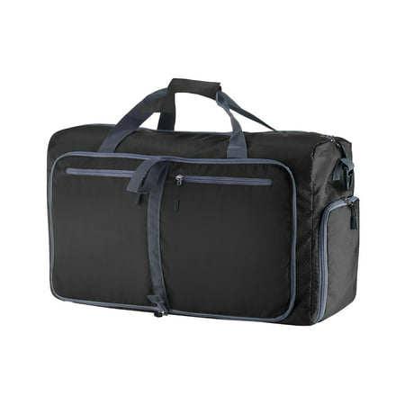 Laptop Overnight Bag (Duffle Gym Bag - Luggage Tote for Overnight / Weekend Trips - Includes Shoe Compartment and Outer Pockets for Storage by Wakeman Outdoors )