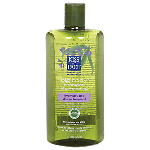 Kiss My Face Big Body Hair Shampoo For Fine Hair With Lavender And Chamomile - 11 Oz