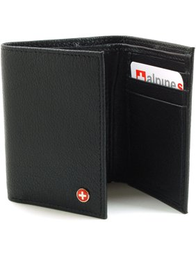 7b3a4d0f079 Product Image Alpine Swiss Mens Trifold Wallet Genuine Leather