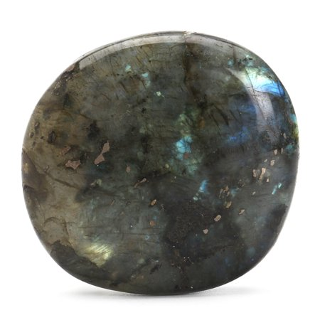 Large Tumbled Stone Labradorite Quartz Crystal Healing Mineral Rock (Mineral Stone)