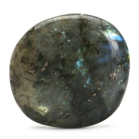 Large Tumbled Stone Labradorite Quartz Crystal Healing Mineral Rock Specimens (Large Crystal Quartz Rock)