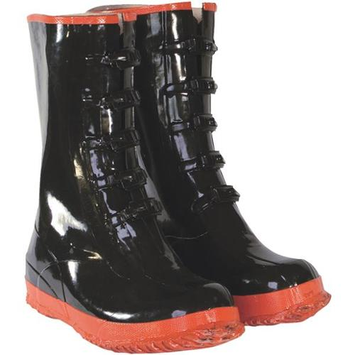 Custom Leathercraft R22013 5-Buckle Rubber Overshoe Boot