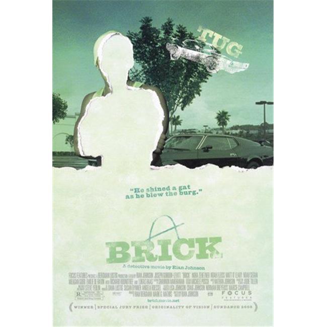 Posterazzi MOV348140 Brick Movie Poster - 11 x 17 in. - image 1 of 1