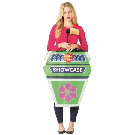 The Price is Right Showcase Showdown Neutral Adult Halloween Costume, One Size, (40-46) - Costume Hire Prices