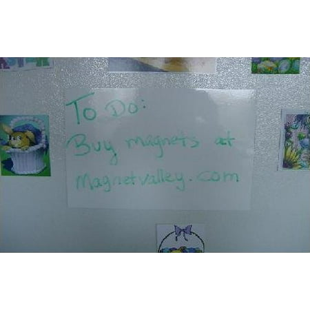 1 dry erase white magnet sheet 8 5 x 11 write on wipe off magnetic