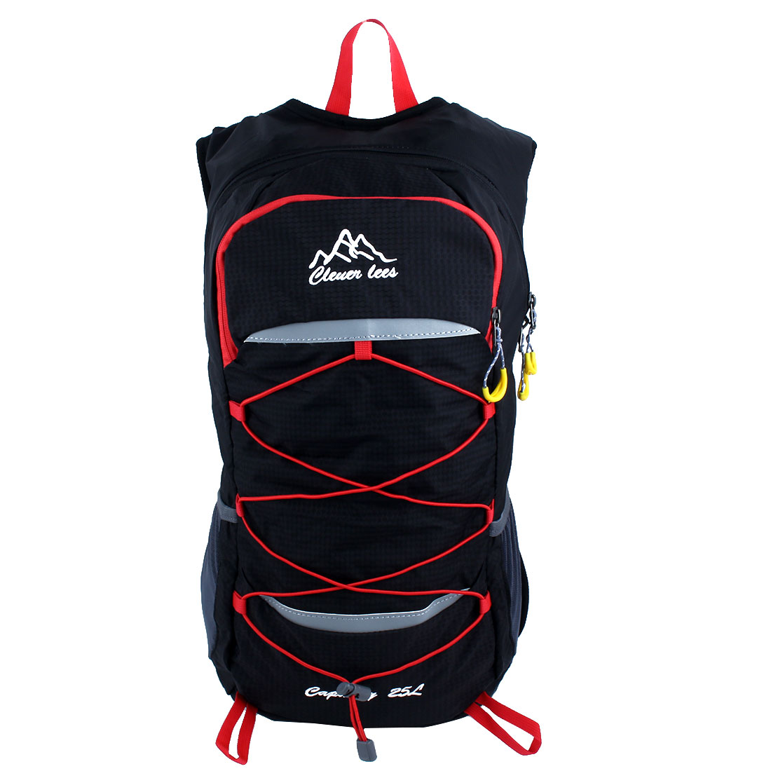 Camping Hiking Climbing Backpack Cycling Daypack Outdoor Sports Bag Black by