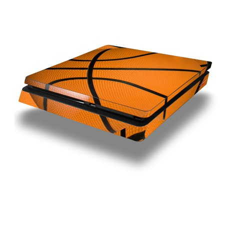 Vinyl Decal Skin Wrap compatible with Sony PlayStation 4 Slim Console Basketball (PS4 NOT INCLUDED)