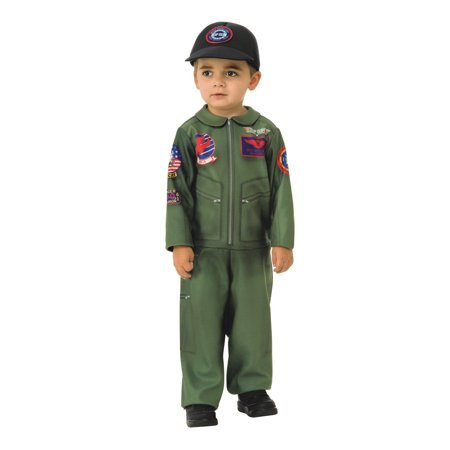 Top Gun Toddler Halloween Costume Romper