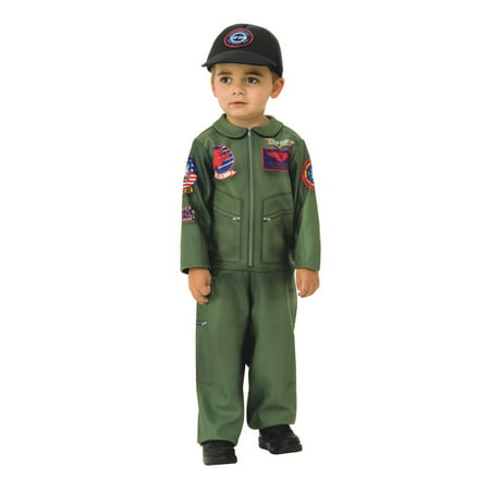 Top Gun Toddler Halloween Costume Romper (Top Gun Couples Costumes)