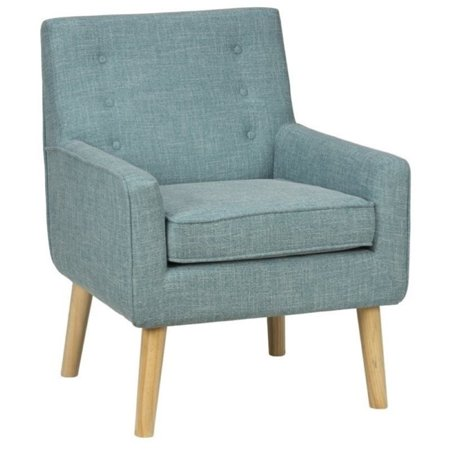 Admirable Bowery Hill Mod Accent Chair In Peacock Blue Unemploymentrelief Wooden Chair Designs For Living Room Unemploymentrelieforg