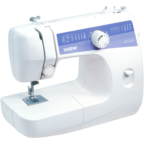 Brother 10-Stitch Portable Sewing Machine, LS-2125i
