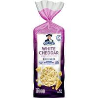 Quaker Rice Cakes, White Cheddar, 5.5 oz Bag