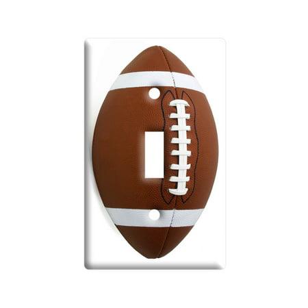 Football Light Switch Plate -